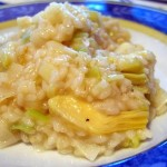 Leek and Artichoke Risotto
