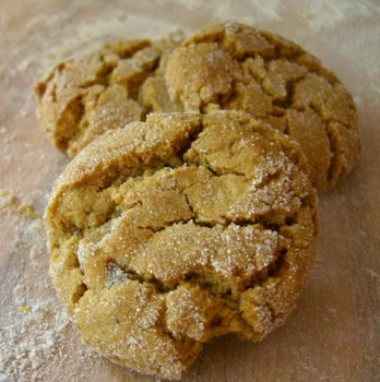 Ginger Cookies with Candied Ginger