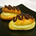 Mini Eclairs with Lower Fat Pastry Cream