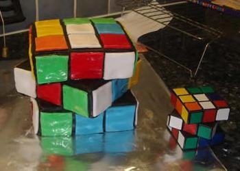 a cubist cake