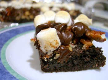 rocky road with pecans