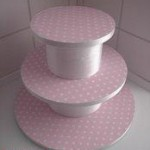 homemade cake stand