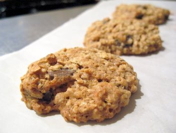 Low Fat Oatmeal Chocolate Chip Cookies | Baking Bites