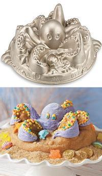 Octopus Bundt Cake Pan