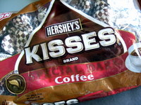coffee kisses bag