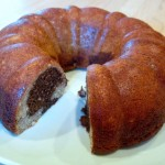 Marbled Banana Bundt Cake