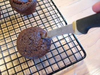 cupcake, pre-filling