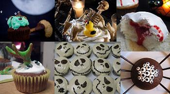 bloggers' h'ween cupcakes!