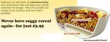 eat me crunchy bowl