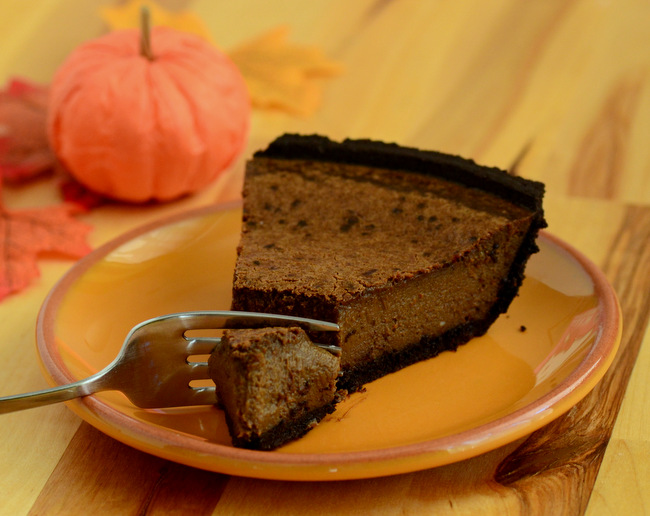 How to Make a Chocolate Pumpkin Pie