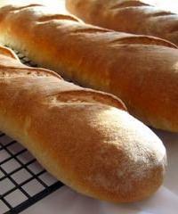 cooling, crispy baguettes