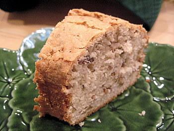 pecan cake slice