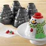 mini snowman pan