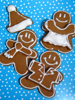 gingerbread paper dolls