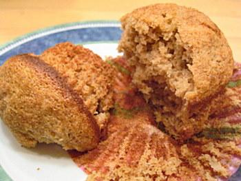 banana barley muffin
