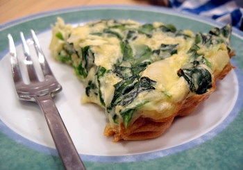 Spinach and feta quiche recipes easy