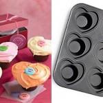 heart crown cupcake pan