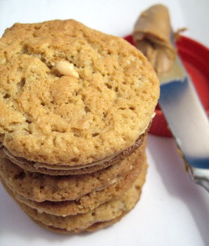 homemade do-si-sos, or peanut butter sandwich cookies