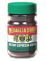 medaglia d'oro instant espresso jar