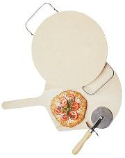 Villaware Pizza stone set