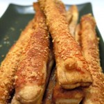 Parmesan Pretzel Sticks
