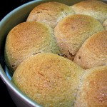 White Whole Wheat Dinner Rolls