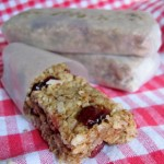 Coconut, Almond Cranberry Granola Bars