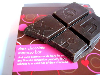 Choxie Dark Chocolate Espresso Bar