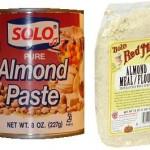 almond paste vs. almond meal