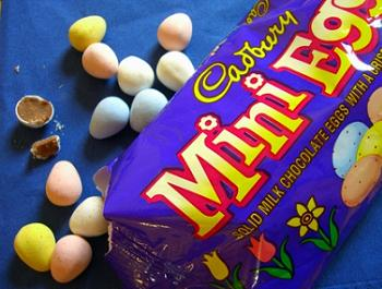 Cadbury Mini Eggs, Milk