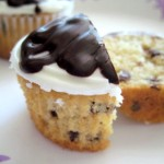 Bailey's Mint Chocolate Chip Cupcakes