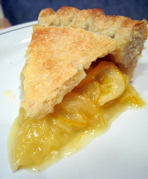 shaker lemon pie slice
