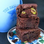 Double Chocolate Pistachio Brownies