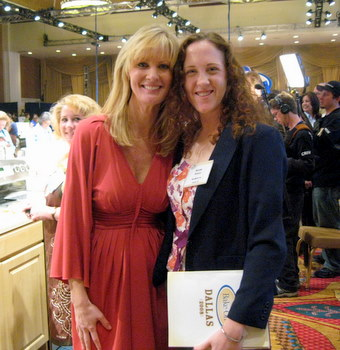 Sandra Lee and me!