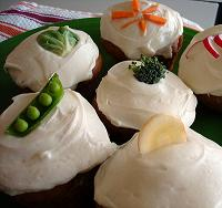 veggie cakes from Cake Spy!