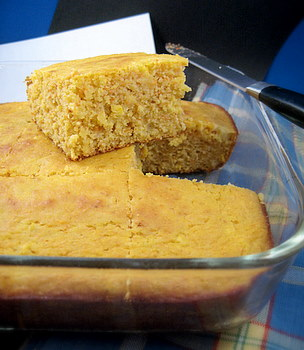 Sweet Corn and Carrot Cornbread