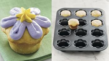 Daisy Cupcake Pan
