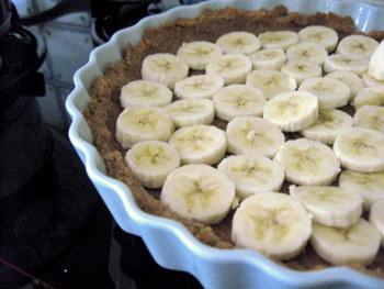Southern Banana Pudding Tart