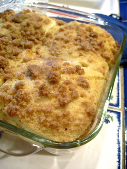 Brown Sugar Streusel Baked French Toast