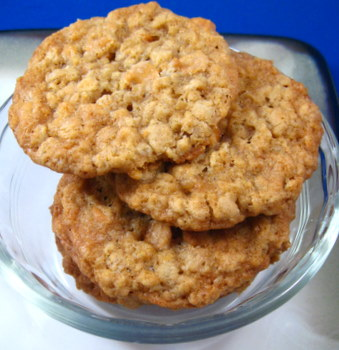 Oatmeal-Butterscotch Cookies