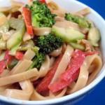Thai-Inspired Peanut Noodle Salad
