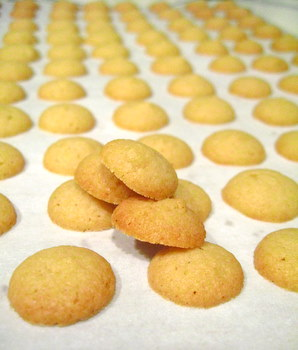 Mini Vanilla Wafer Cookies | Baking Bites