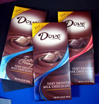 Dove Silky Smooth Milk and Dark Chocolates