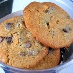 Honeyed Chocolate Chip Cookies
