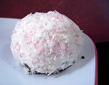 Homemade Sno-Ball Cupcake