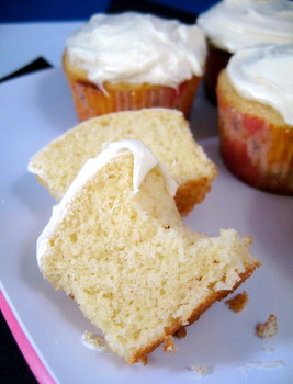 Vanilla Brown Butter Cupcakes