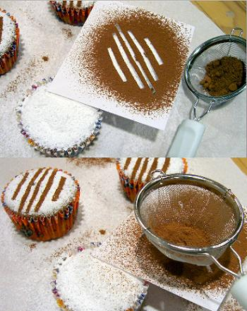 homemade cupcake stencils