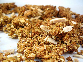 Pumpkin Spice Granola with Almonds