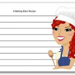 Baking Bites Recipe Card