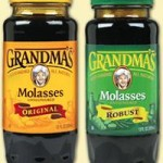 Grandma's Molasses, light and dark